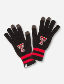 "47 Brand Texas Tech ""Team Player"" Touchscreen Compatible Black & Red Gloves"