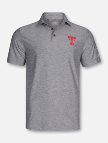 Under Armour Texas Tech Throwback Double T Twisted Polo