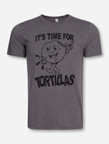 It's Tortilla Time on Heather Grey T-Shirt