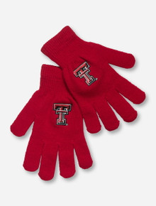 Texas Tech Double T Red Gloves