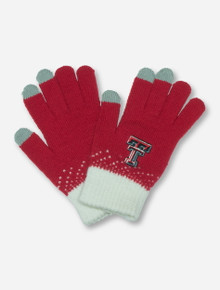 Texas Tech Magic Mountain Touchscreen Compatible Red Gloves