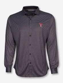 "Texas Tech ""Pixels"" Black and White Dress Shirt"