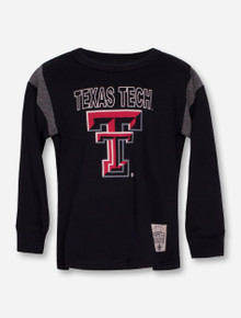 "Garb Texas Tech ""Frank"" TODDLER Black Long Sleeve Shirt"