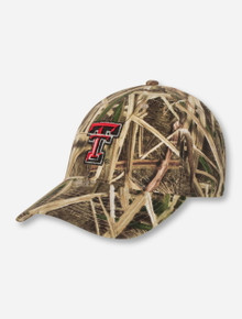 Legacy Texas Tech Double T on Camo Adjustable Cap
