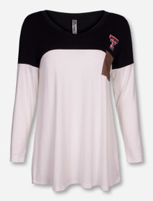 "Bamboa Texas Tech ""Chalkboard"" Long Sleeve Tunic"