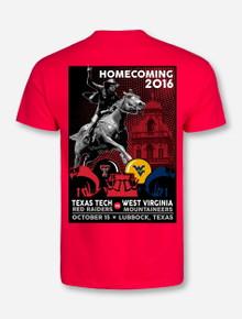 Texas Tech 2016 Homecoming Red T-Shirt