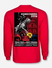 Texas Tech 2016 Homecoming Red Long Sleeve Shirt