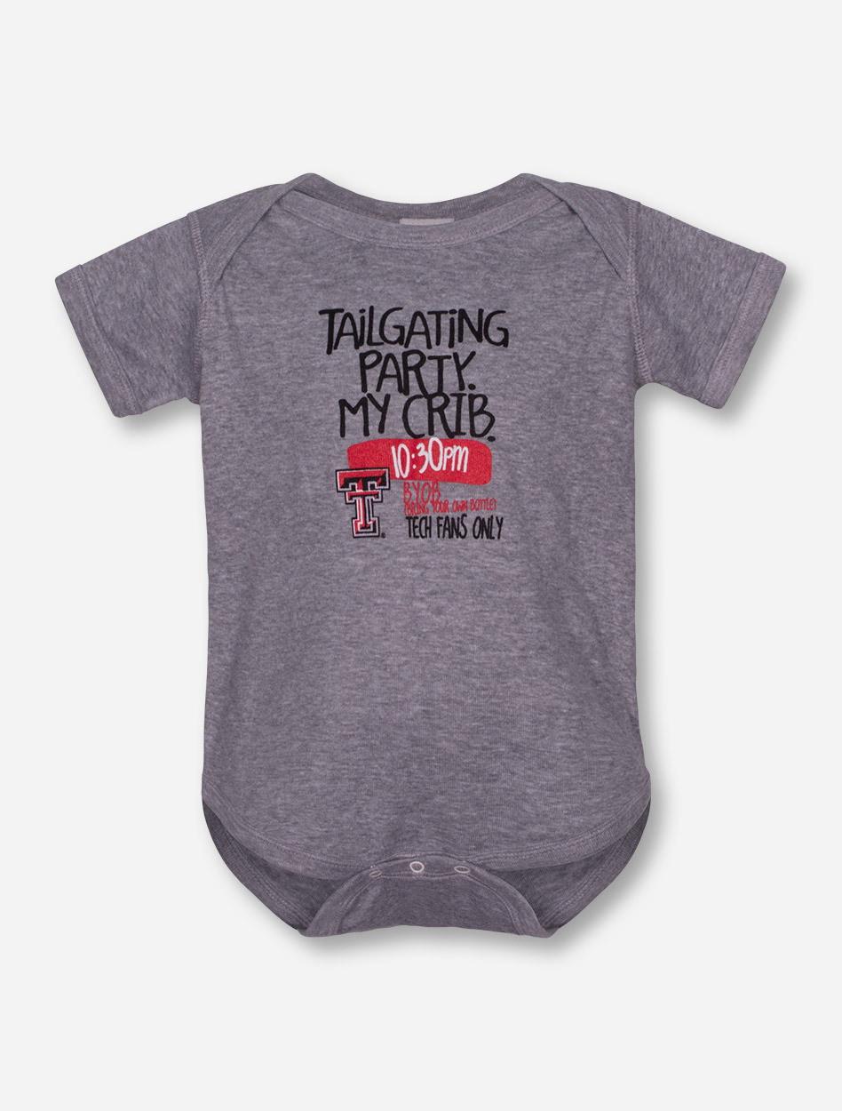 tailgate texas tech shirt heather gray prod