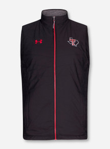 Under Armour Texas Tech Lone Star Pride Microfleece Black Vest