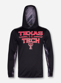 "Under Armour Texas Tech ""Stream"" Double T Black Hoodie"