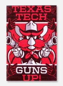 Texas Tech Guns Up Raider Red Magnet