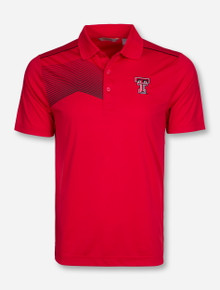 "Cutter & Buck Texas Tech ""Vertigo"" Red Polo"