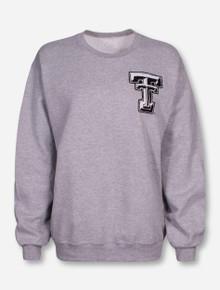 Livy Lu Texas Tech Cotton Tail Grey Sweatshirt