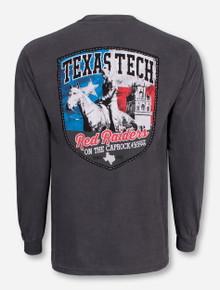 Texas Tech Camp Long Star Pride Grey Long Sleeve Shirt