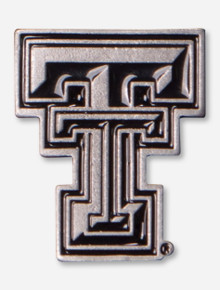 Texas Tech Pewter Double T Lapel Pin