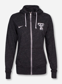 Nike Texas Tech Gym Vintage Women's Full Zip Hooded Sweatshirt