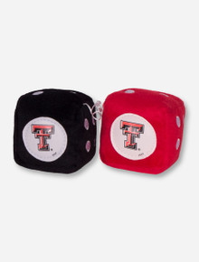 Texas Tech Double T Fuzzy Dice