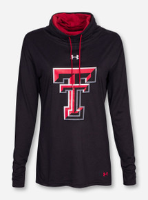 "Under Armour Texas Tech ""Olympic"" Women's Cowl Neck Pullover"