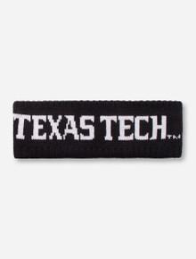 "Zephyr Texas Tech ""Halo"" Black Headband"