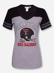 "Livy Lu Texas Tech ""3rd and Goal"" V Neck Shirt"