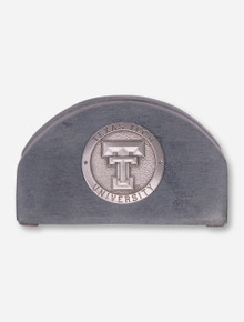 Heritage Pewter Texas Tech Stone Business Card Holder