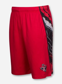 "Under Armour Texas Tech ""Foundation"" Red Gym Shorts"