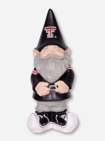 Texas Tech Smiling Gnome