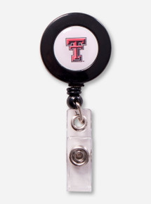 Texas Tech Double T Retractable Badge Holder