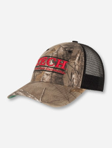 The Game Tech Bar on Camo Snapback Cap