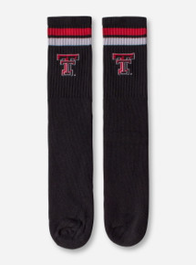 Texas Tech Double T Crew Length Tube Socks