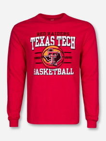 Texas Tech Hardwood Classic Red Long Sleeve Shirt
