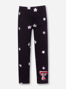 Wes & Willy Texas Tech Star TODDLER Leggings