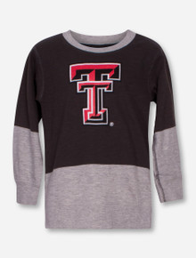 "Wes & Willy Texas Tech ""Engineer"" TODDLER Two Toned Long Sleeve Shirt"