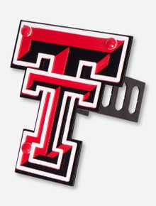 Texas Tech Double T Metal Works Hitch Cover