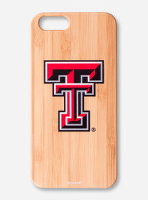 Texas Tech Bamboo iPhone Case