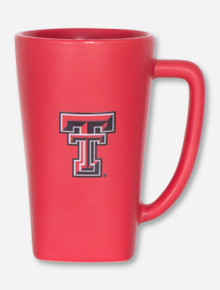 Texas Tech Double T on Red Tall Latte Mug
