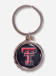 Texas Tech Double T Bottle Cap Opener Key Chain