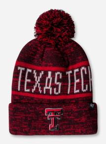 47 Brand Texas Tech Northmont Red Cuff Beanie