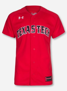 Under Armour Texas Tech 2017 Baseball Red Jersey