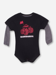 Arena Texas Tech Monster Truck INFANT Onesie
