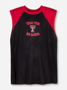 Arena Texas Tech Gridlock YOUTH Black Tank Top