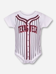 Arena Texas Tech Fast Ball INFANT Jersey Print Onesie