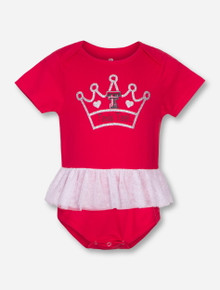 Arena Texas Tech Princess INFANT Red Tutu Onesie