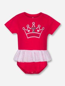 Arena Texas Tech Princess INFANT Red Tutu Onesie