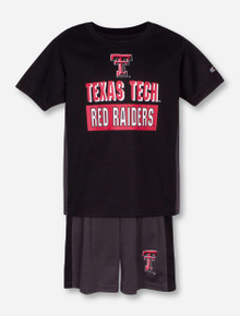Arena Texas Tech In the Vault TODDLER T-Shirt and Shorts Set