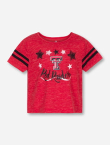 Arena Texas Tech Janice TODDLER Red T-Shirt