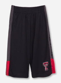 Arena Texas Tech Strike YOUTH Black Gym Shorts