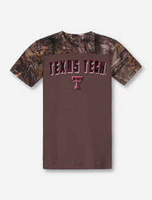 Arena Texas Tech Scout YOUTH Camo and Brown T-Shirt