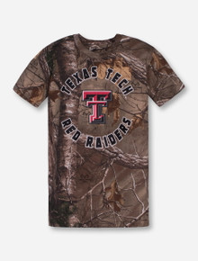 Arena Texas Tech True Spike YOUTH RealTree Camo T-Shirt