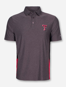 Arena Texas Tech Double T on Grey Polo
